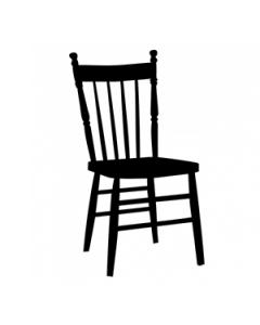Antique Black Chair